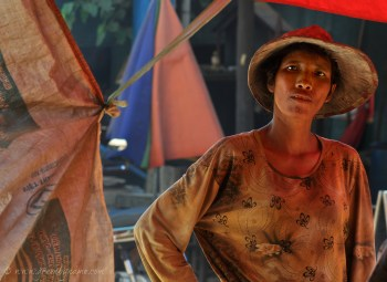 Red Woman - Tonle Sap