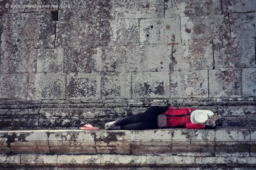 Siesta at Preah Vihear ~ On Tour with www.greenbyname.com