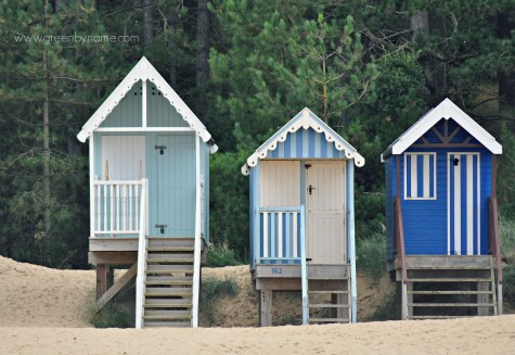Beach Huts / Norfolk Blues