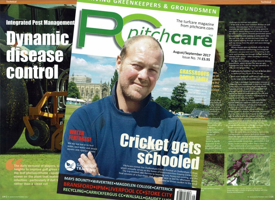 Pitchcare feature