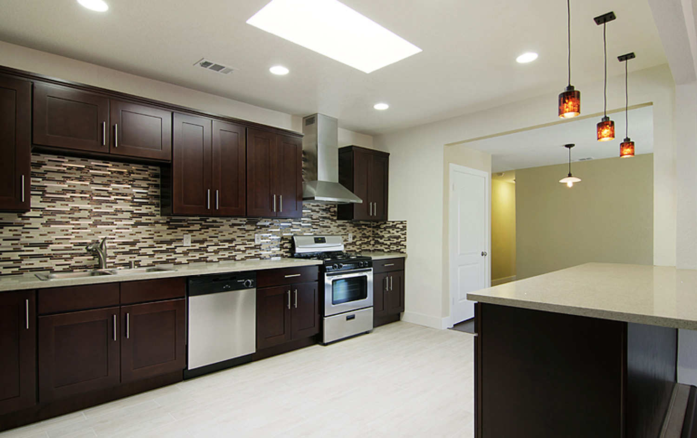 shaker style kitchen ikea kitchens cabinets greencastle - beech espresso
