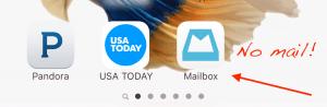 no emails