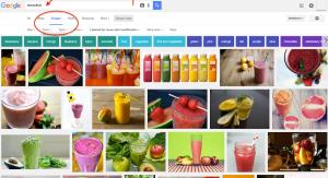 Google Images step 1
