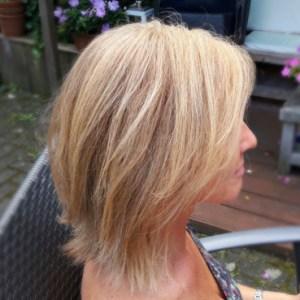 natuurlijke plantenkleuring - blond