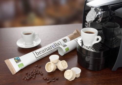 BASF Ecovio in coffee capsules