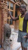Master wood carver