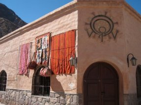 These colors are also the colors of the natural dyes.
