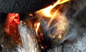 Conventonal biomaas cooking stove