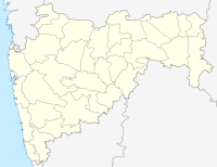 Outlined Map of Maharashtra
