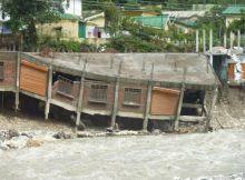 Flash floods in Uttarakhand