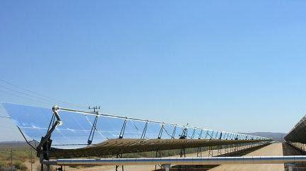 Solar Thermal Power Plant - Parabolic trough