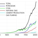 Carbon emissions from different energy sources accross years