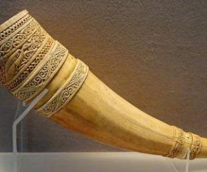 Ivory- Craft made up of elephant tooth