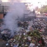 Emission from burning of Municipal Solid Waste