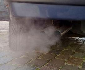 Automobile exhaust gas