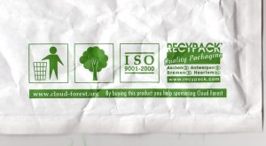Green packaging symbols