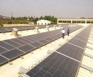 Rooftop solar project at Pune MIDC