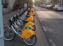 Bicycle sharing startup