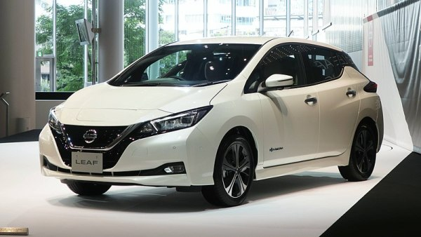 Nissan Leaf_compact five-door hatchback electric car