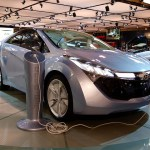 Hyundai Blue Will-electric car