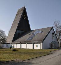 Solar panels on Church