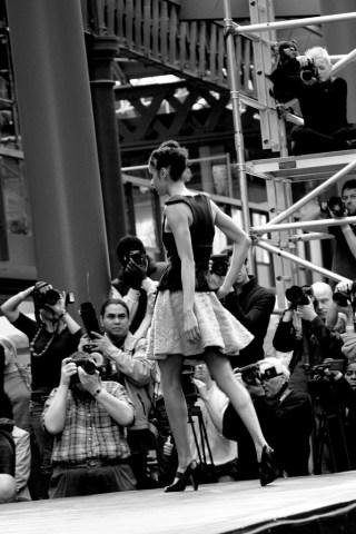 London Fashion Week - Catwalk