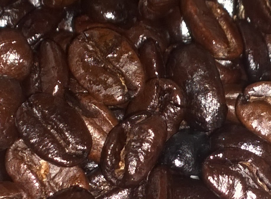 Roasted coffee beans Laos