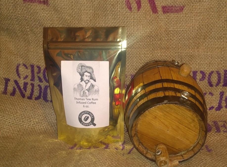 Rum Barrel Aged Coffee Beans