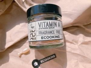 ECOOKINGカプセル型ビタミンAセラム(60粒入り)