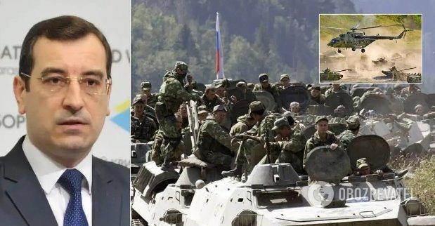 Россия стянет к границам Украины 120 тысяч военных и 500 танков, – разведчик