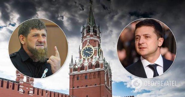В Кремле отреагировали на обращение Кадырова к Зеленскому
