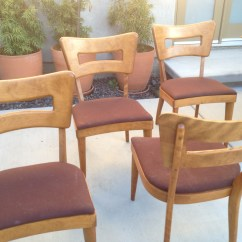 Heywood Wakefield Dogbone Chairs High Chair That Turns Into A Dining Set 43 4  Sold