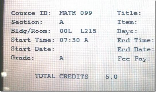 Algebra pass
