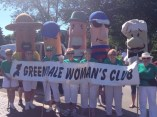 GWC & Brewers Racing Sausages at the Greendale 4th of July parade