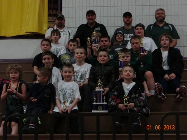 Green Demon Youth Wrestling Club Feel The Heat
