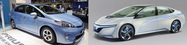 2011 Honda AC-X Plug-In Hybrid vs Toyota Prius plug-in hybrid