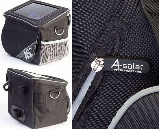 a solar tour bag lets you carry solar power anywhe