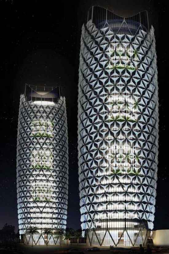abu dhabi investment council headquarters towers a