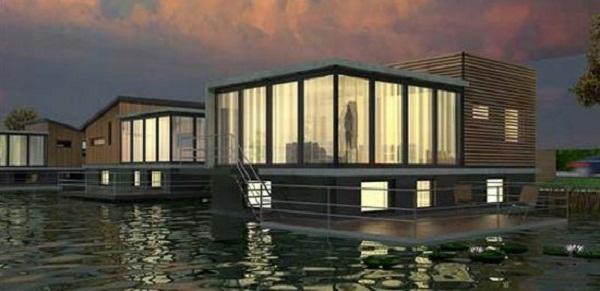 Anti-Flooding Floating Houses