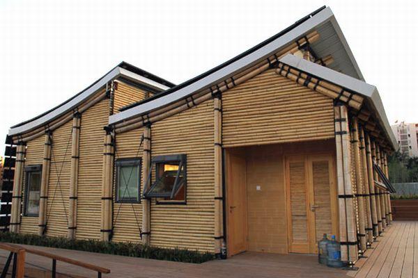 Bamboo house by tongji university