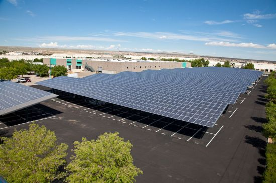 bell group headquarters solar array