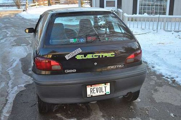 Ben Nelson's DIY electric car