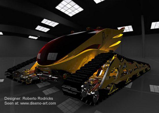 biodiesel fueled rtv concept vehicle 2