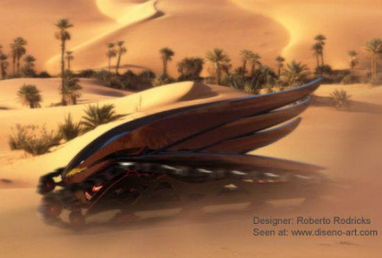 biodiesel fueled rtv concept vehicle 3