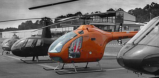 biofuel powered delta d2 prototype chopper 1