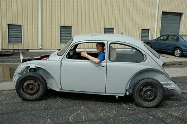 Biofuel transformed vehicles