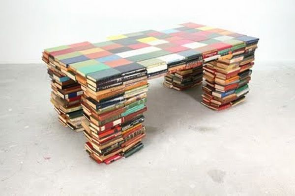 Book coffee table
