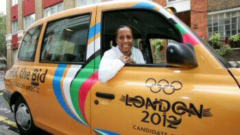 british taxi driver
