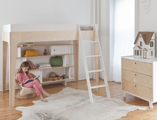 Amazing Unlike other bunk beds Oeuf Perch will leave plenty of room at the footprint for kids to play on or to adorn with additional furnishings