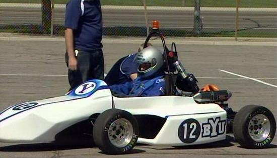 byu hybrid electric racecar 1